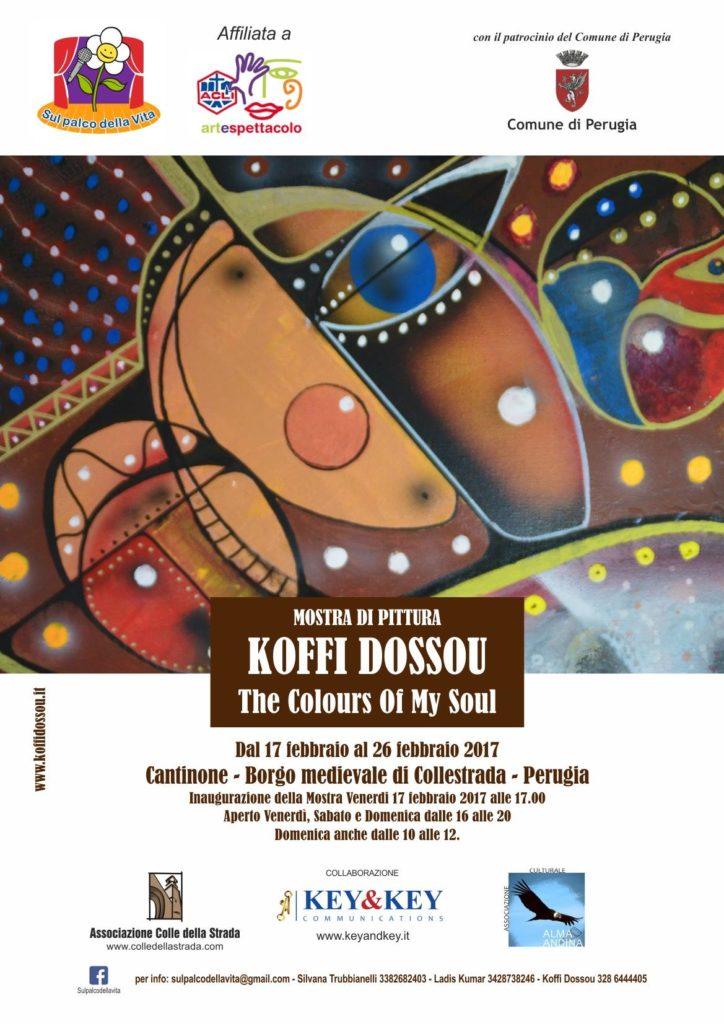 Mostra di pittura Koffi Dossou